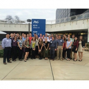 First company tour on fall trip is in the books! Thank you @proctergamble for having us