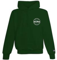 Champion Dark Green Single Soft Spun Hooded Sweatshirt ($42)